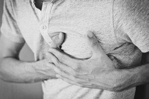 Stress symptomen - pijn op de borst